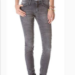Current/Elliott Moto skinny jeans